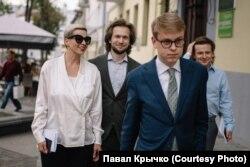 Марыя Калесьнікава, Іван Краўцоў, Ільля Салей і Антон Раднянкоў