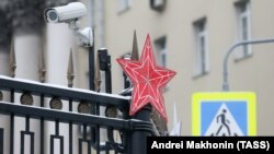 Камера наружного наблюдения на улице Москвы