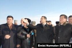 Премьер-министр Өмүрбек Бабанов баштаган топ Ошто, 29-декабрь.