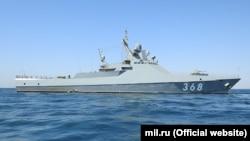 Патрульний корабель Чорноморського флоту Росії «Василь Биков»