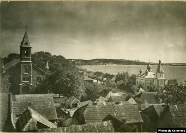 Браслаў, 1934 год. Фота Яна Булгака