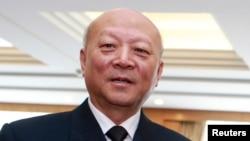 Кинескиот поморски командант, адмиралот Ву Шенгли.