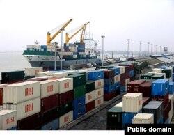 Порт Чабанар в Иране