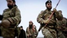 Fotografija iz propagandnog videa tzv. IDIL-a, fotoarhiv