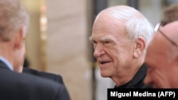 عکس میلان کوندرا در ۸۱ سالگی