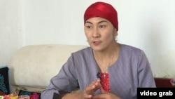 Гульзира Могдин, этническая казашка из Китая.