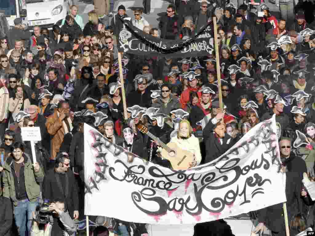 اعتصابکنندگان در مارسی