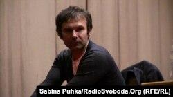Святослав Вакарчук на зустрічі зі студентами, 10 квітня 2014 року