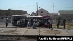 Bakı, avtobus qəzası