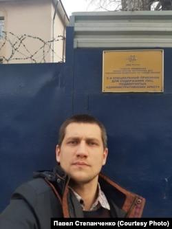 Павло Степанченко після звільнення з московського спецприймальника