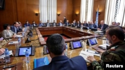 Intra Syria talks, in Geneva, May 16, 2017