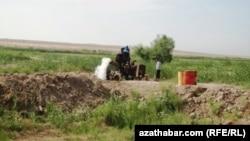 Район Рухубелент Дашогузской области Туркменистана (иллюстративное фото)