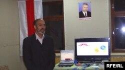 Хрыстафор Жаляпаў на адкрыцьці клюбу