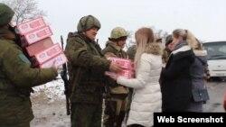 Студенты «ЛАВД» поздравляют боевиков российских гибридных сил