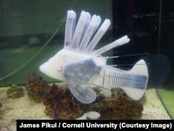 Рыба-робот с кровью-батарейкой