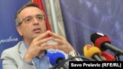 Goran Danilović, ministar unutrašnjih poslova Crne Gore
