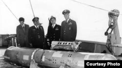 Ядерная бомба, извлеченная со дна Средиземного моря в 1966 году