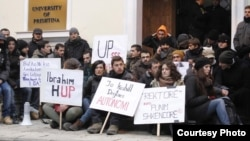 Jedan od protesta studenata u Prištini