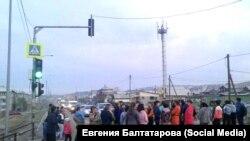 Аналогичная акция протеста в Бурятии.