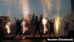 Выступление группы Scooter, иллюстрационное фото