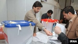 Голосование в Тегеране.
