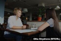 Юлия Королёва и Елена Бевз