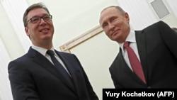 Москва-средба на претседателите на Србија и на Русија, Александар Вучиќ и Владимир Путин