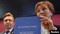 Marina Litvinenko ərinin qətli barədə hesabatla