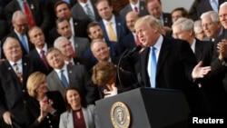 دونالد ترامپ در جمع جمهوریخواهان کنگره آمریکا؛ ۲۰ دسامبر