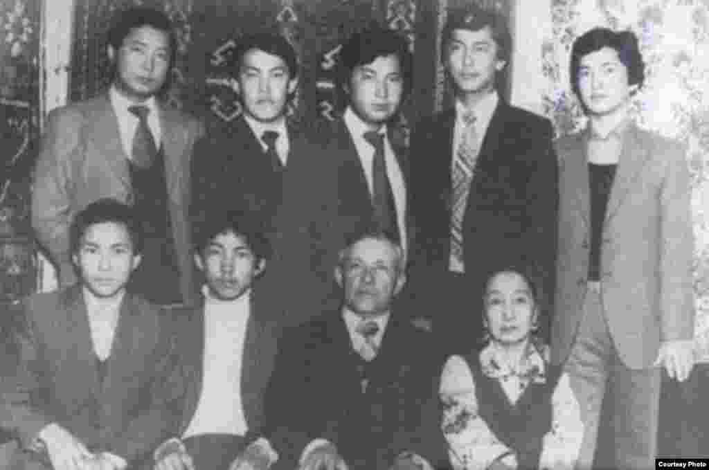 Семейное фото Бакиевых.
