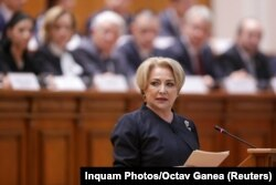 Premierul român Viorica Dancilă, 29 ianuarie 2018