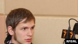 Федорук в вашингтонской студии РС перед возвращением на родину
