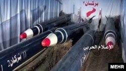 شورشیان حوثی میگویند موشکهای شلیکشده از نوع برکان ۲ بودهاند
