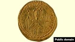 Златник (золотая монета) князя Владимира