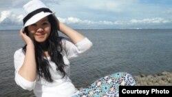 21-летняя жительница Астаны Улдархан Медеубекова.