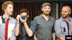 گروه موسیقی راک «کلد پلی» (عکس: EPA)