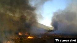 Požar u Hutovom blatu, oktobar 2011.