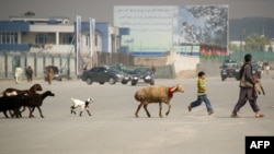 Pamje nga pjesa e vjetër e Kabulit