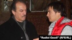 Муҳиддин Ҷӯраев бо Қурбони Собир