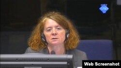 Christine Schmitz svjedoči na suđenju Ratku Mladiću, 17. srpanj 2012.