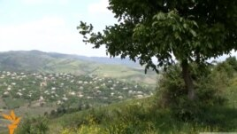 Armenia - A general view of Chinari border village in Tavush province, 08Jun2012.