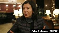 Колумбийская журналистка Мария Тереза Рондерос. Алматы, 13 ноября 2018 года.