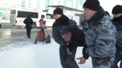 Kazakh Police Arrest Dozens In Nur-Sultan