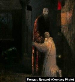 Карціна Генадзя Драздова «Вазьвяртаньне блуднага сына»