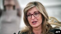 Bulgarian Foreign Minister Ekaterina Zaharieva (file photo)