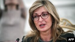Ministrja e Jashtme e Bullgarisë, Ekaterina Zaharieva.