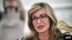 Министърът на външните работи Екатерина Захариева