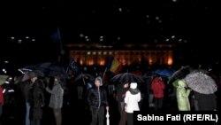 Ռումինիա - Հակակառավարական բողոքի ցույցը Բուխարեստում, 20-ը փետրվարի, 2017թ․