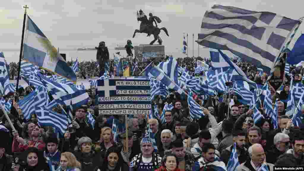 ГРЦИЈА - Организаторите на протестите за т.н. грчкиот карактер на Македонија, за 6 јуни, закажаа нови, паралелни демонстрации низ повеќе градови во Грција.