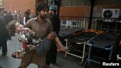 پېښور: د کیسه خوانۍ بازار چاودنې یو تصویر
